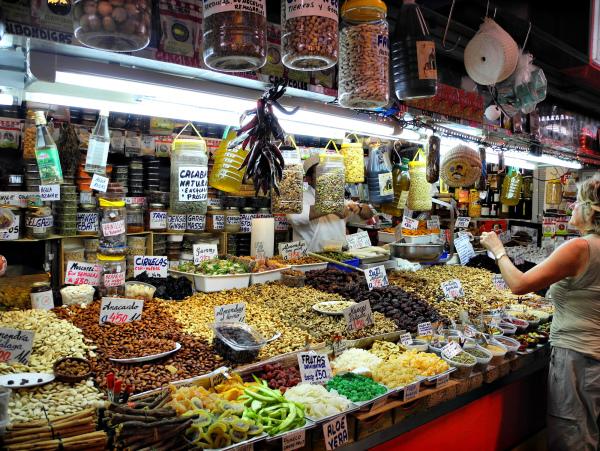 Malaga Market Spice Spain