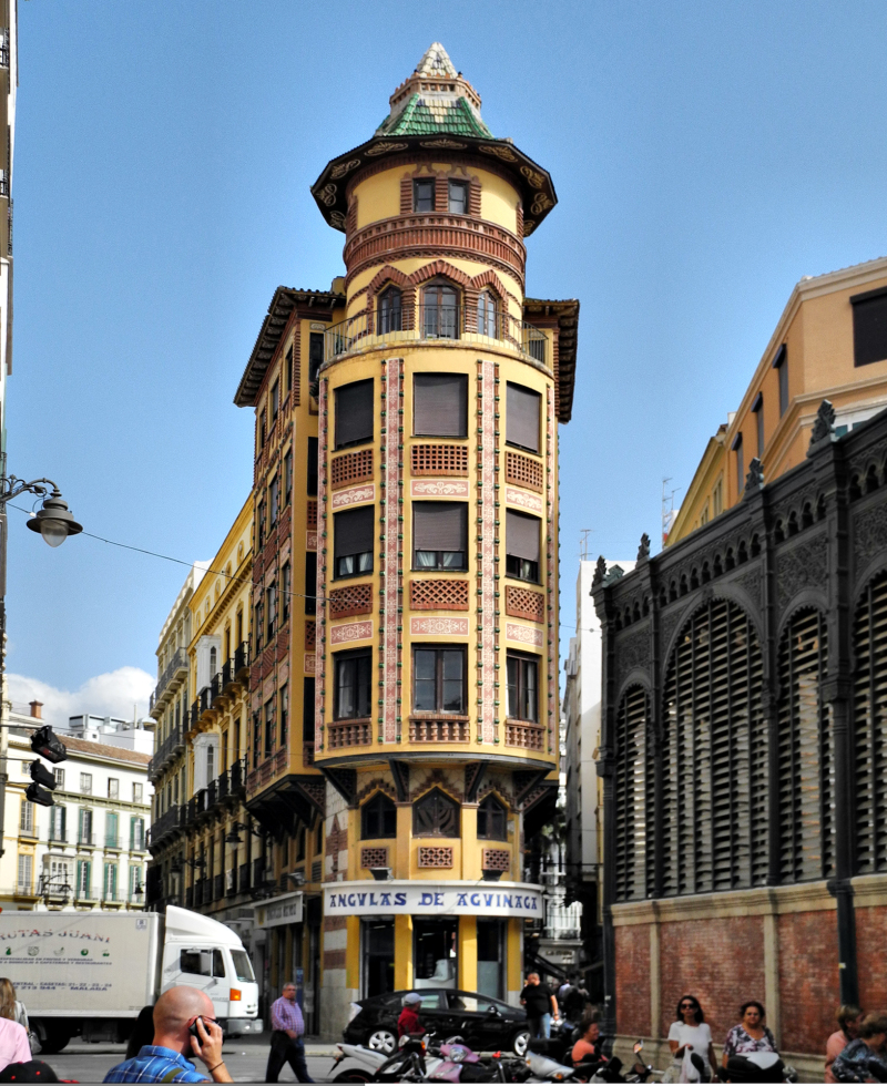 Malaga Market Tower Spain