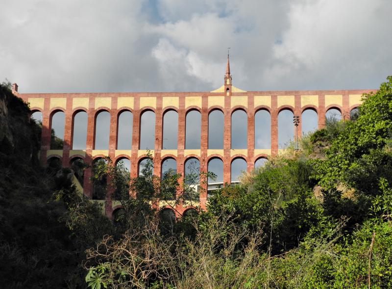 Aqueduct Maro Axarquia Andalusia Spain