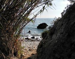 Beach Maro Axarquia Andalusia Spain