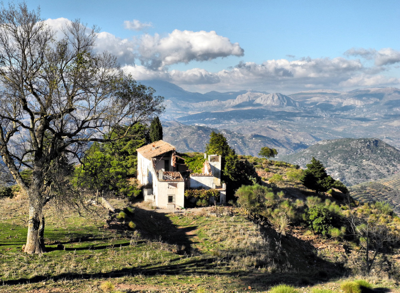 Santo Pitar Finca  Axarquia Andalusia Spain