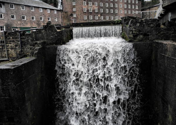 Derbyshire UK Cromford Mill