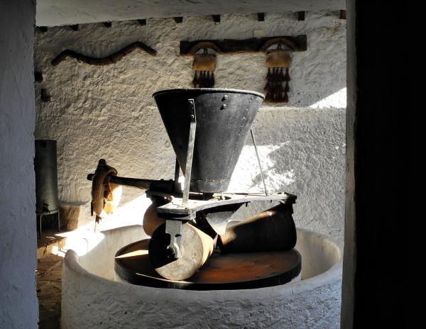 Mill Montes de Malaga Andalusia  Spain