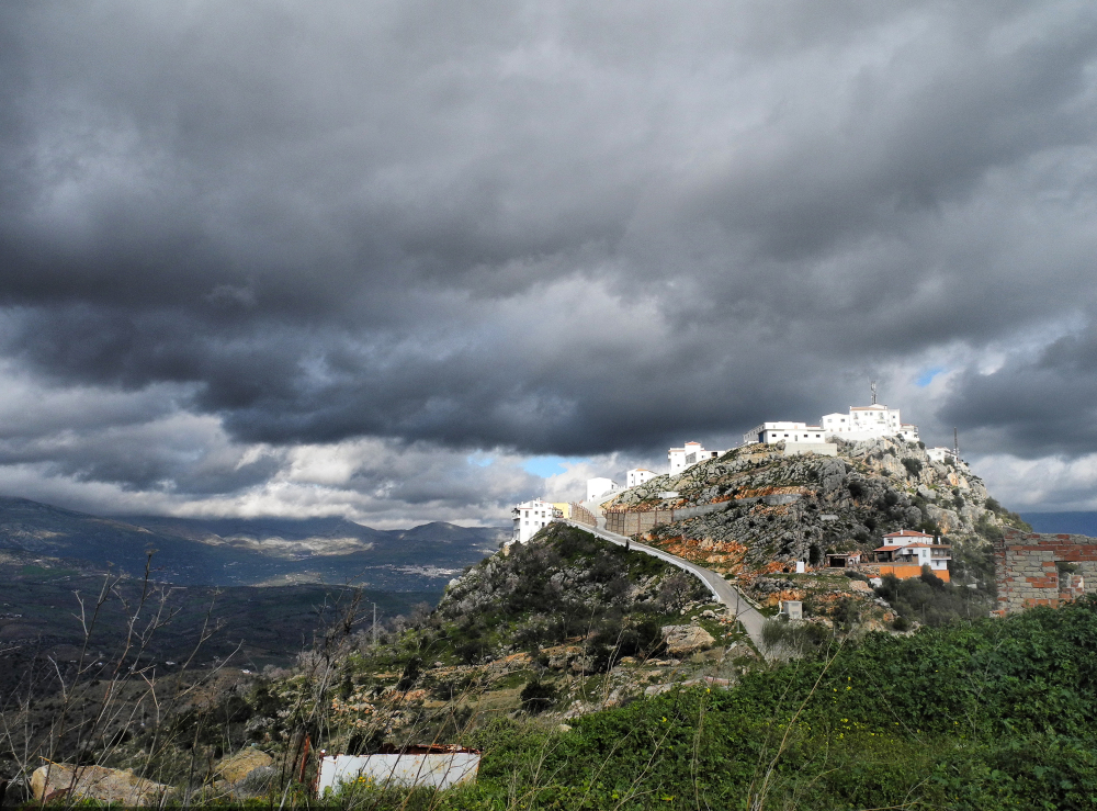 Comares Axarquia Andalusia Spain