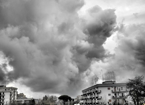 Martina Franca Puglia Italy Clouds