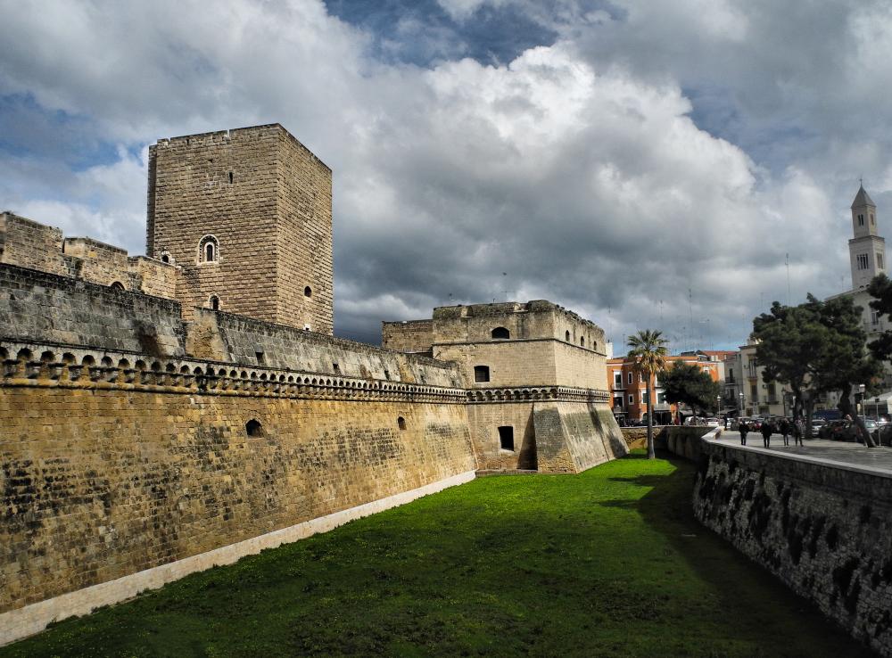 Bari Puglia Italy Castle