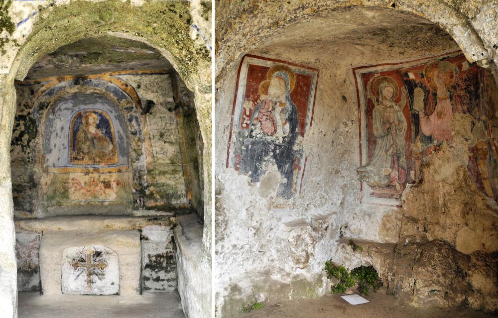 Matera Basilicata Southern Italy Rock cut Churches