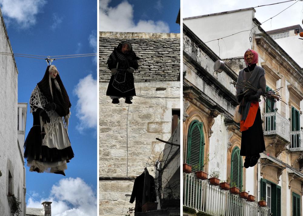 Puglia Italy Hanging Women