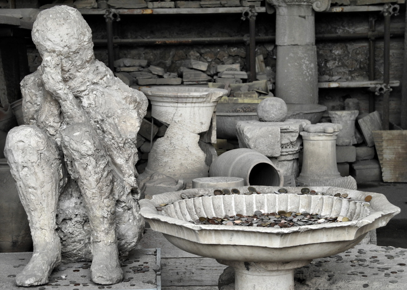 Pompei Naples Italy