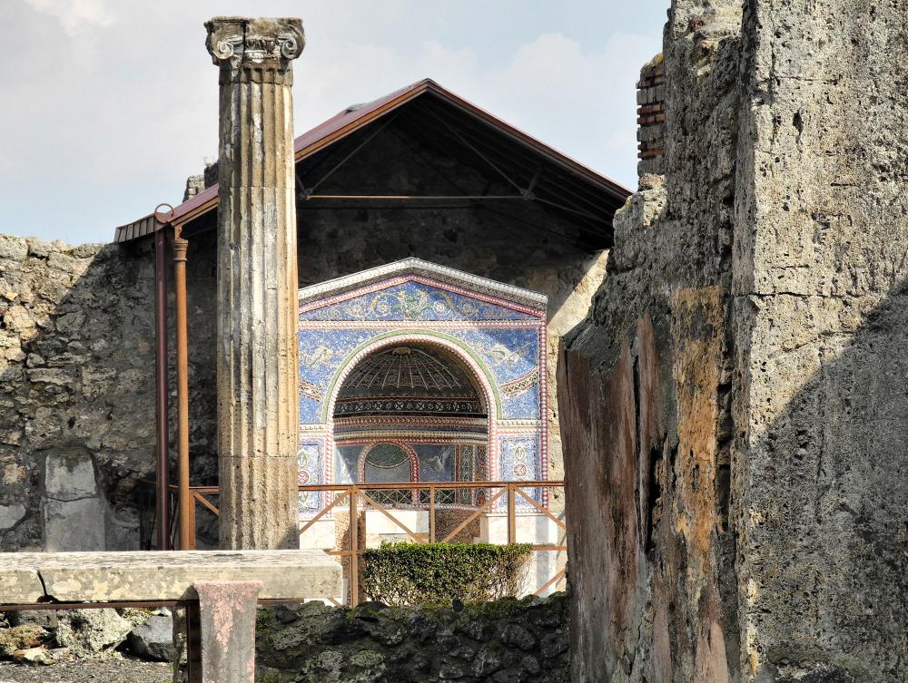 Pompeii Naples Italy