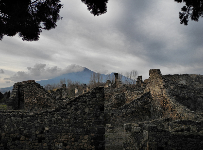 Pompeii Naples Italy Vesuvius