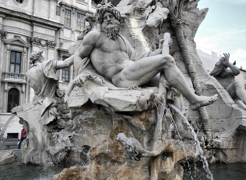 Fountain Rome Italy