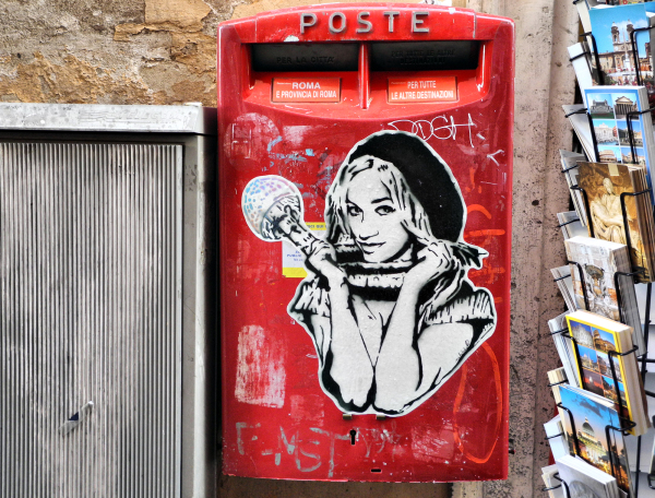 Poste Box Rome Italy