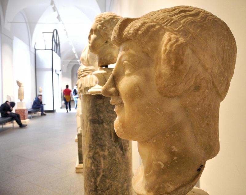 Head Rome Italy