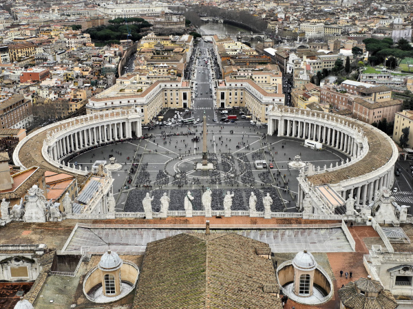 St Marks Square Vatican City Rome Italy