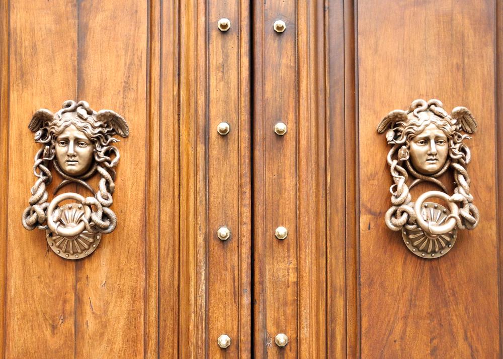 Gorgon Knockers Rome Italy