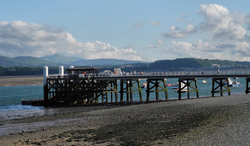 Anglesey Wales UK Beaumaris Pier