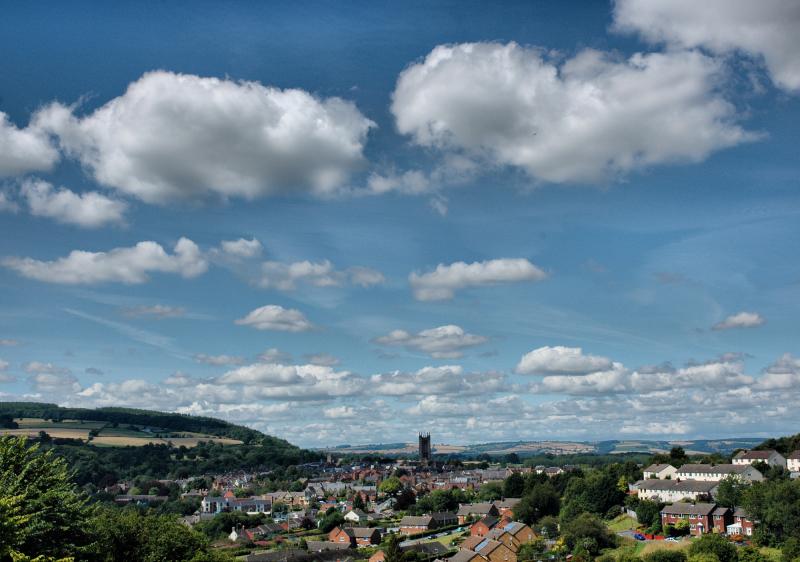 Ludlow Shropshire UK Town