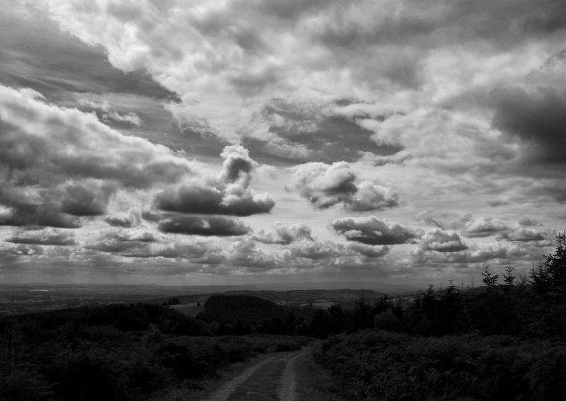 Ludlow Shropshire UK Clouds