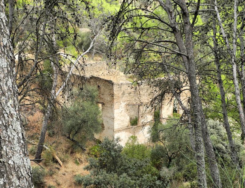 Montes de Malaga Spain Mill