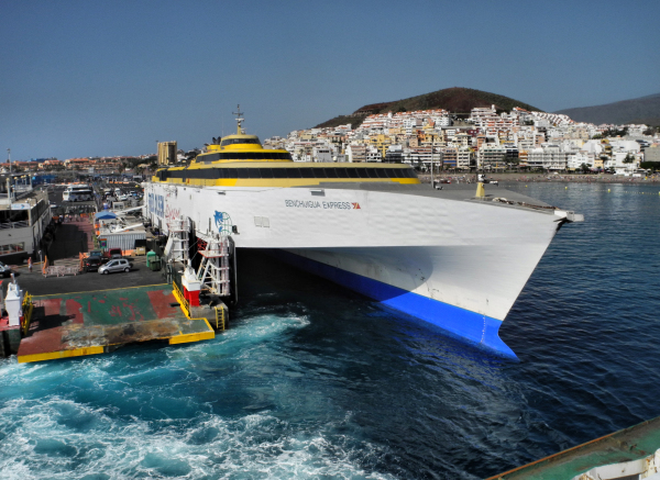 La Gomera Canaries Spain Ferry