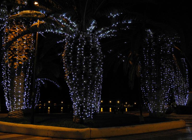 Tenerefe Los Christianos Lights