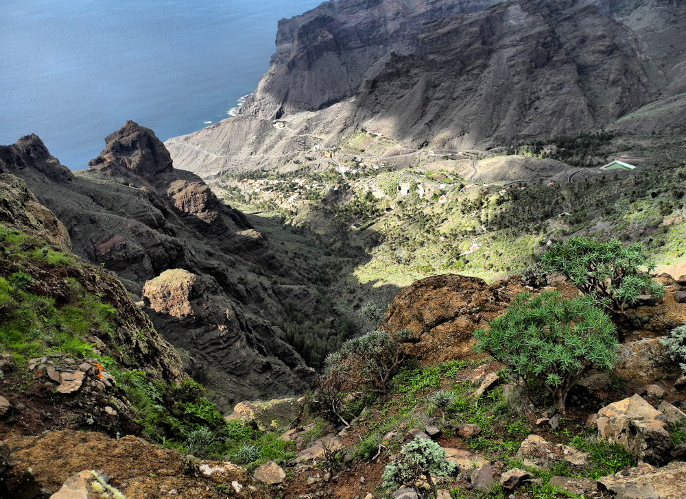 La Gomera Canaries Spain Arure