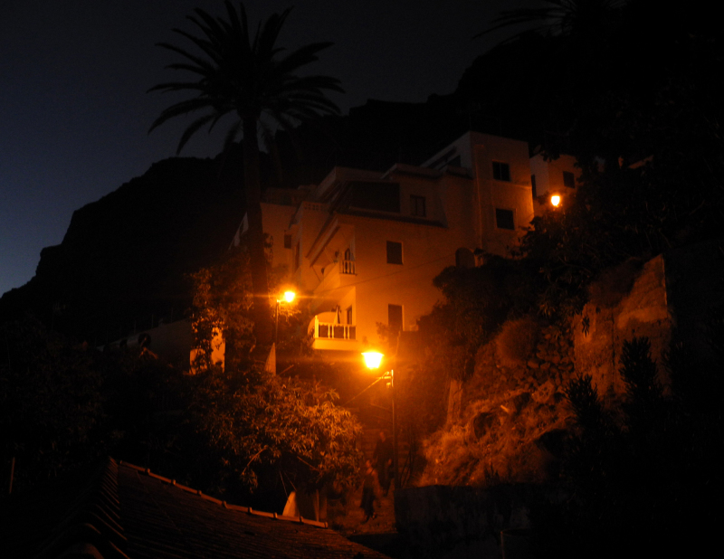 La Gomera Canaries Spain Night