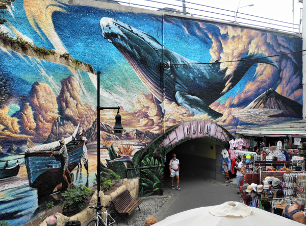Tenerefe Los Christianos Mural