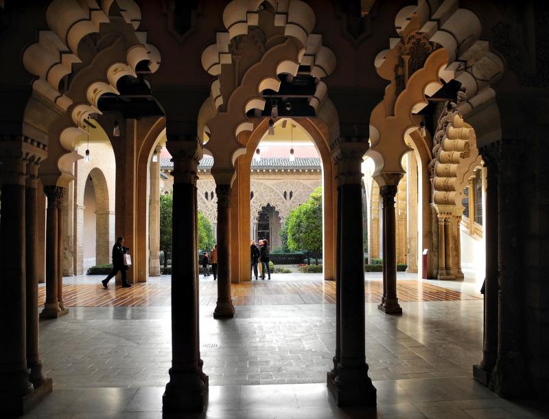 Zaragoza Spain Alcazar