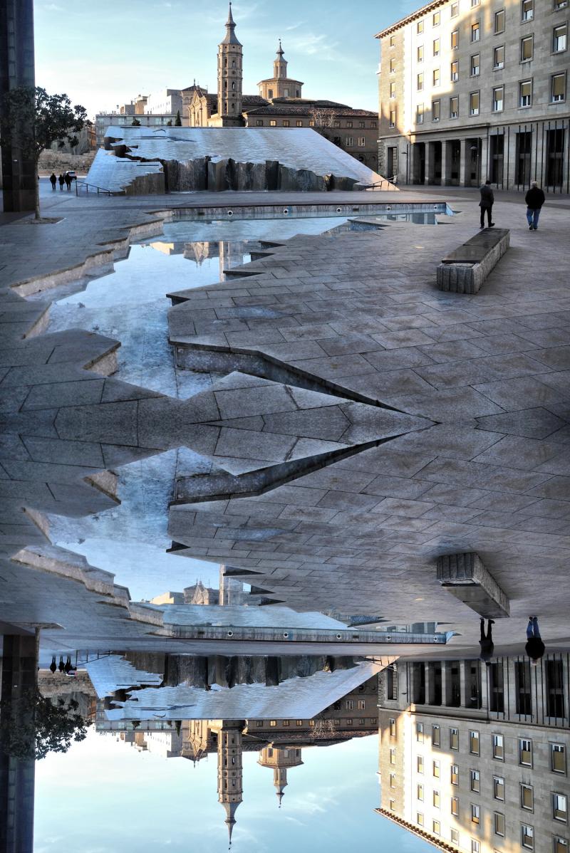 Zaragoza Spain Reflect