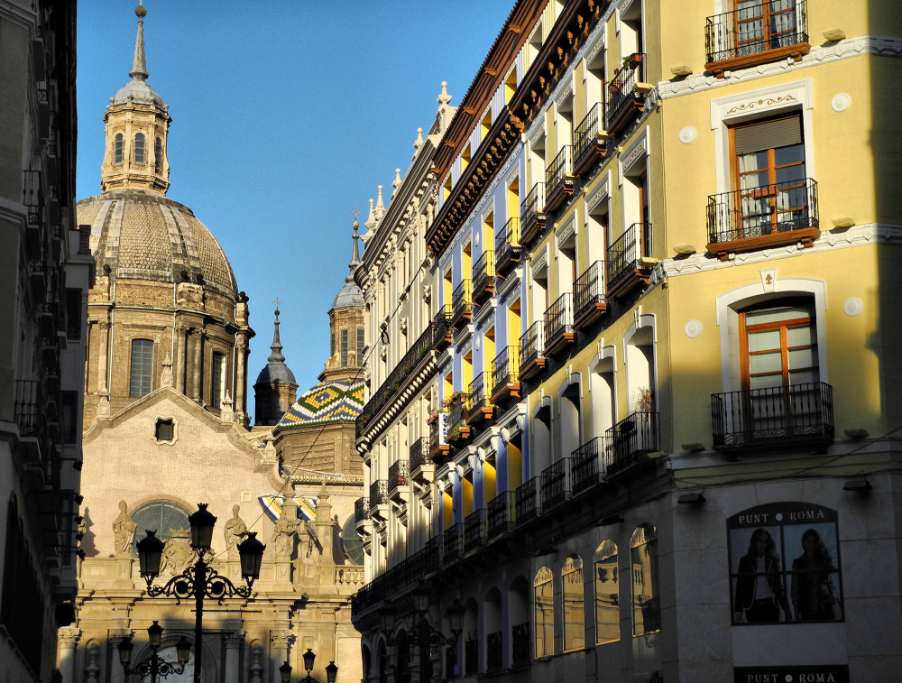 Zaragoza Spain Basilica