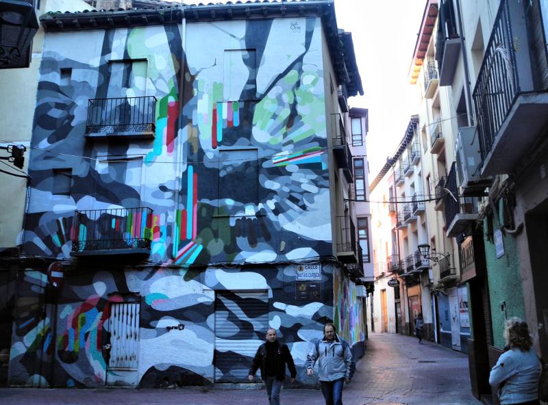 Zaragoza Spain Street Art
