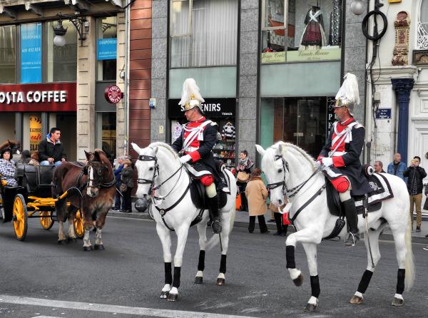 Valencia Spain Parade