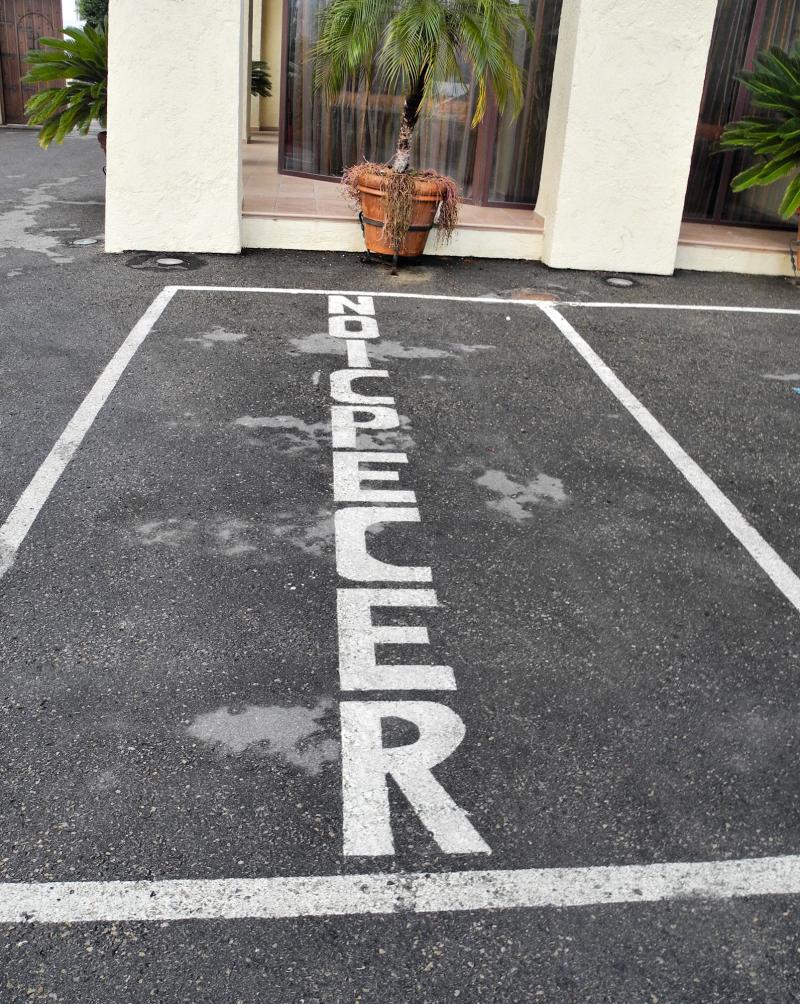 Almeria parking Spain