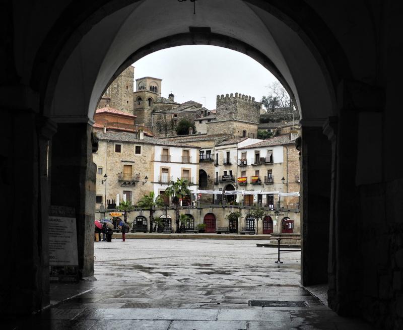Trujillo Spain Plaza