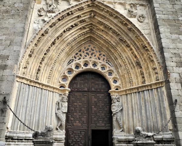 Avila Spain Cathedral