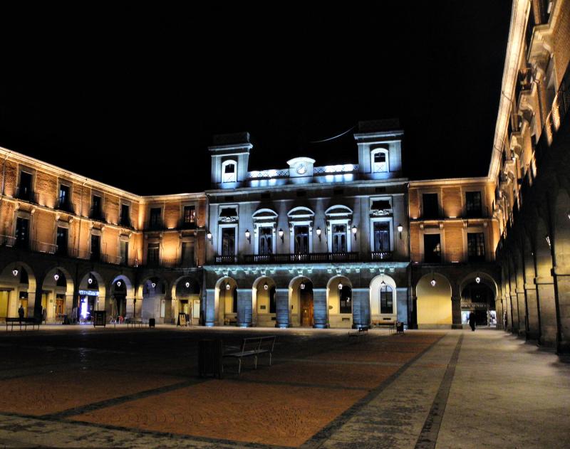 Avila Spain Plaza Mayor