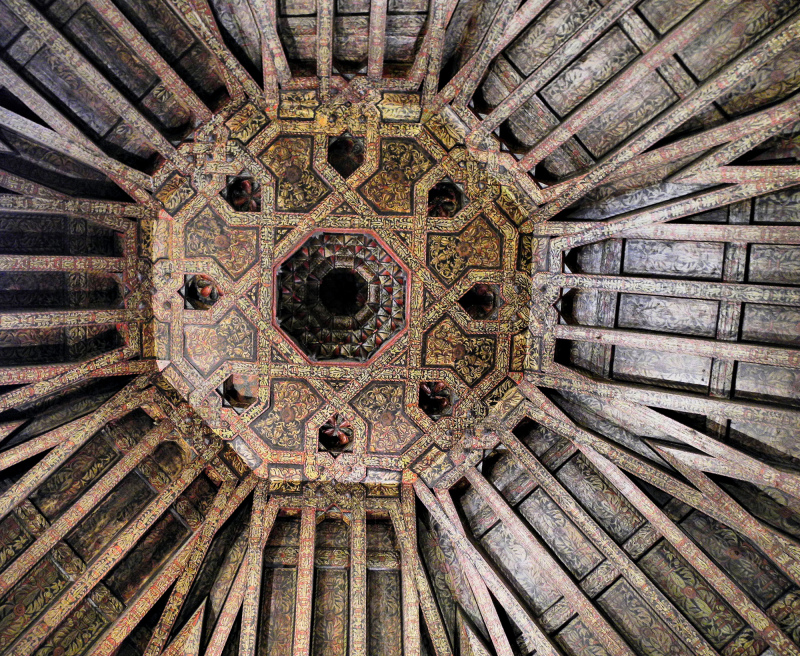 Burgos  Tower Ceiling Spain