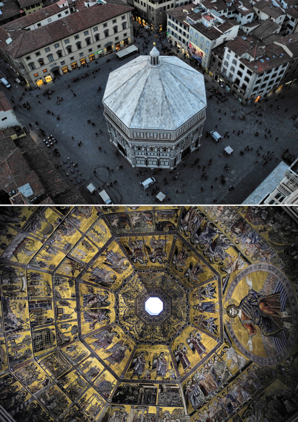 Baptistry Florence Italy