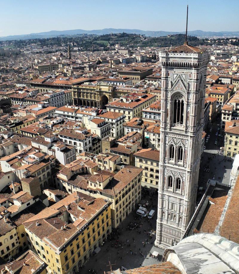 Bell Tower Florence Italy