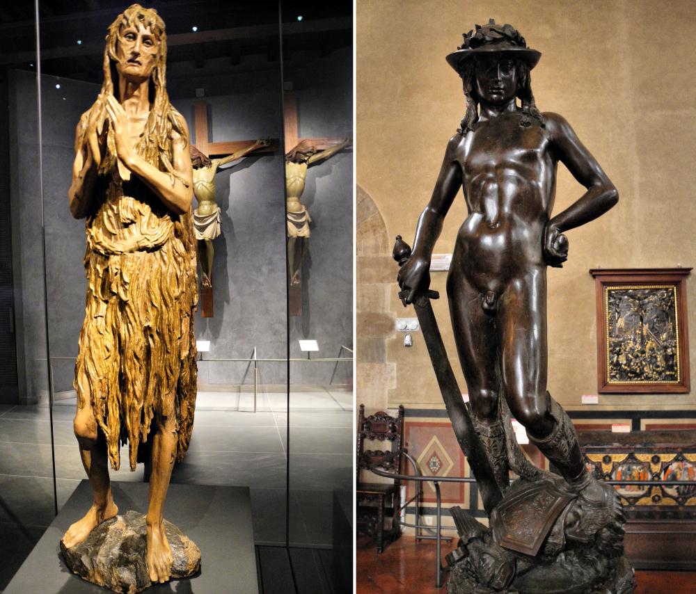 Donatello David John Florence Italy
