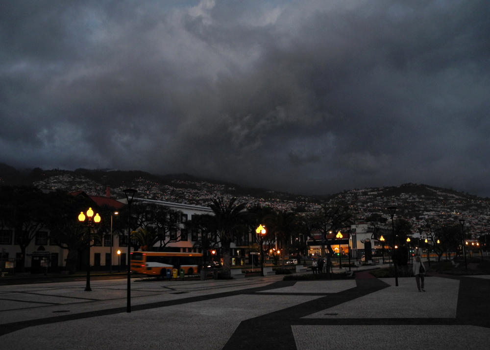 Madeira Funchal Night