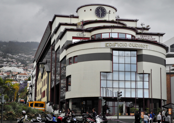 Madeira Funchal Art Deco