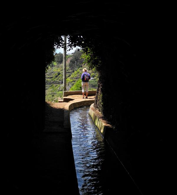 Madeira Tunnel Levada