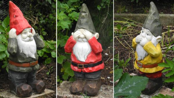 Ludlow Shropshire UK Gnomes