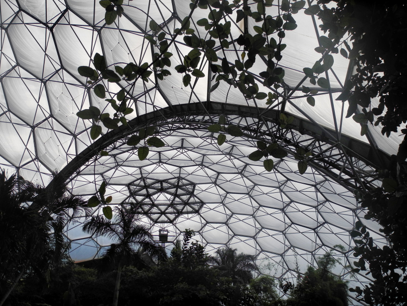 Cornwall Eden Project Biome