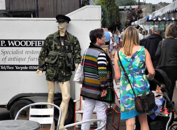 Ludlow Shropshire UK Market