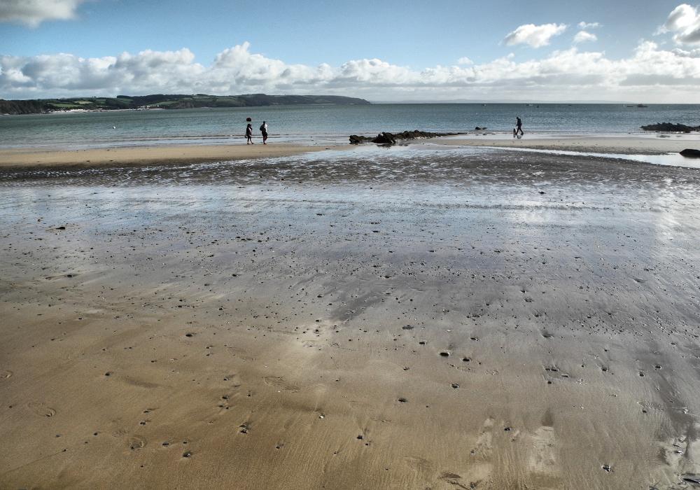 Tenby Wales UK Beach