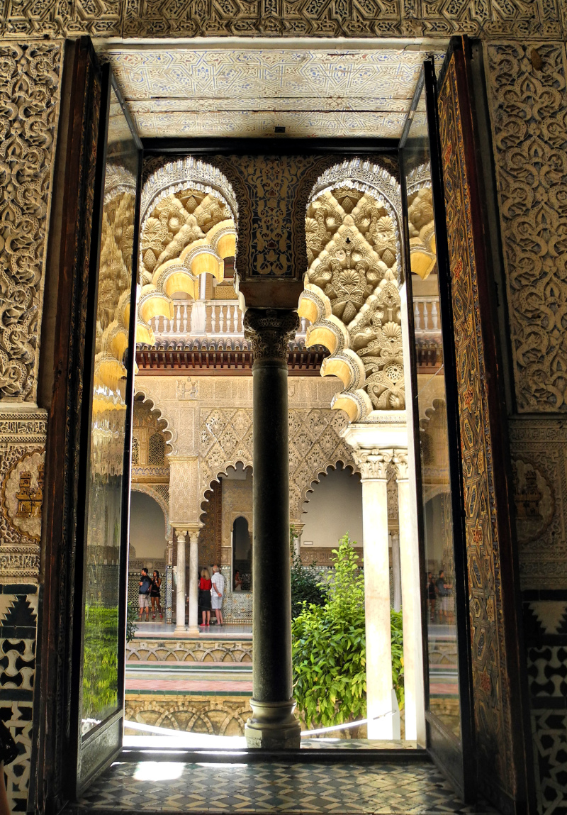 Seville Spain Alcazar